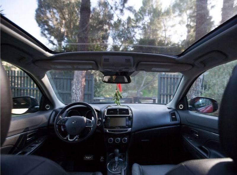 Mitsubishi interior