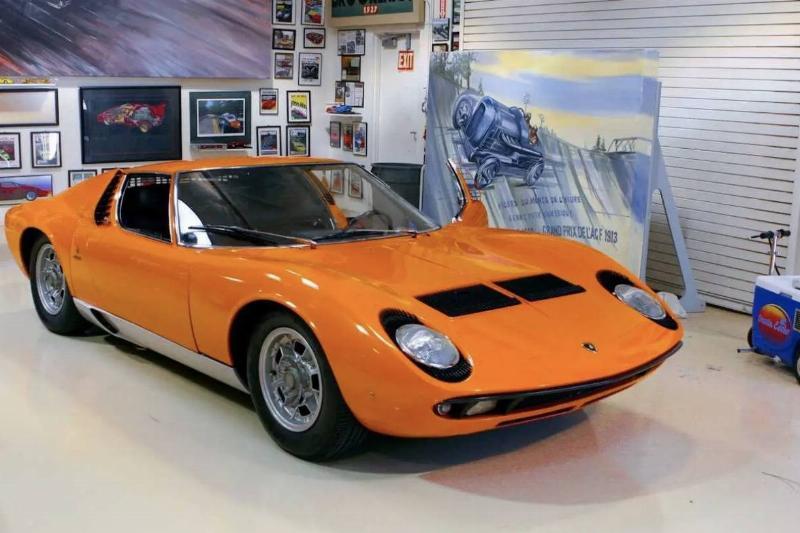 The 1969 Lamborghini Miura S