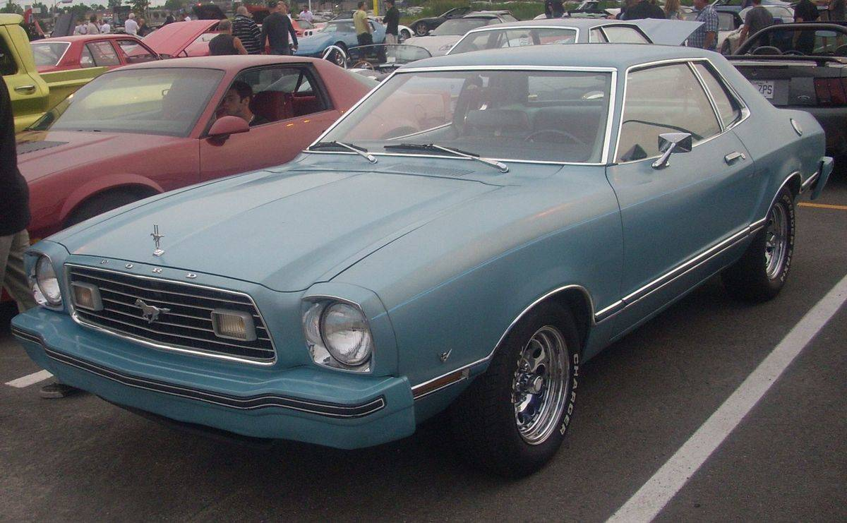 ford mustang ii parked