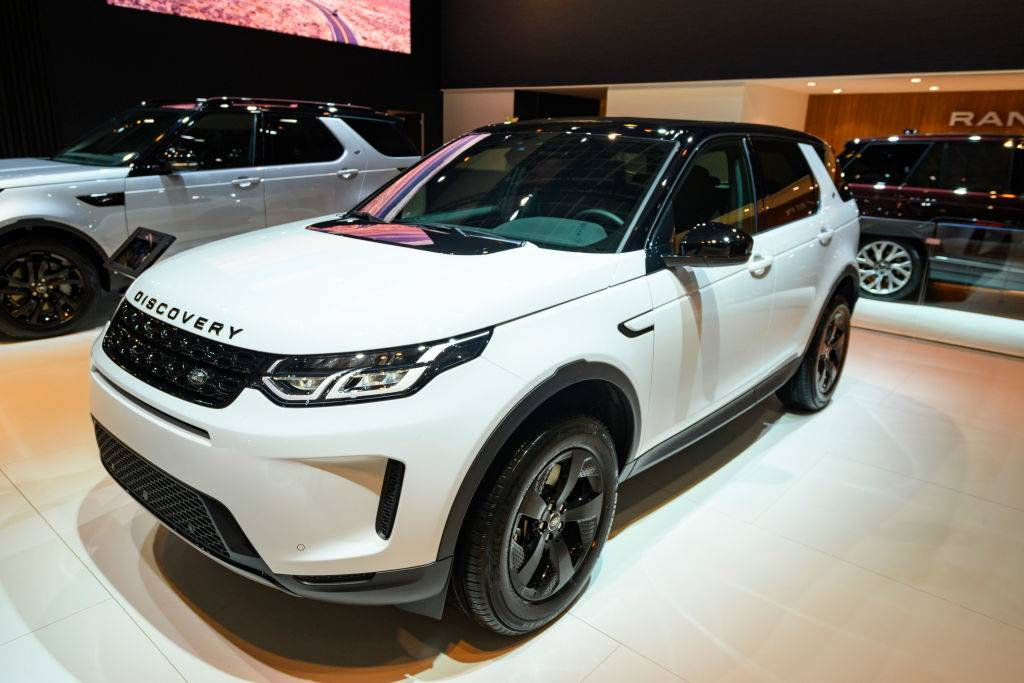 discovery sport on display