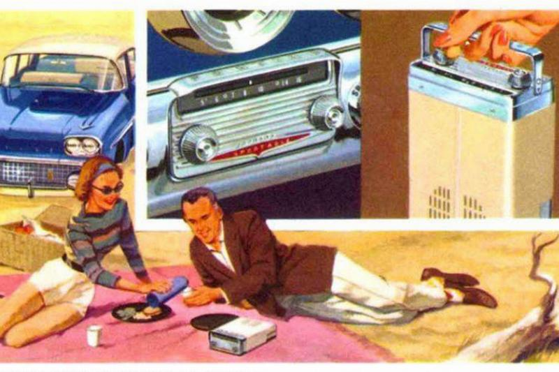 Sportable-Transistor-AM-Radio-Pontiac