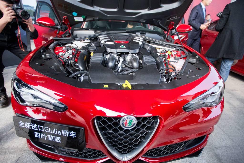 luxury car engine
