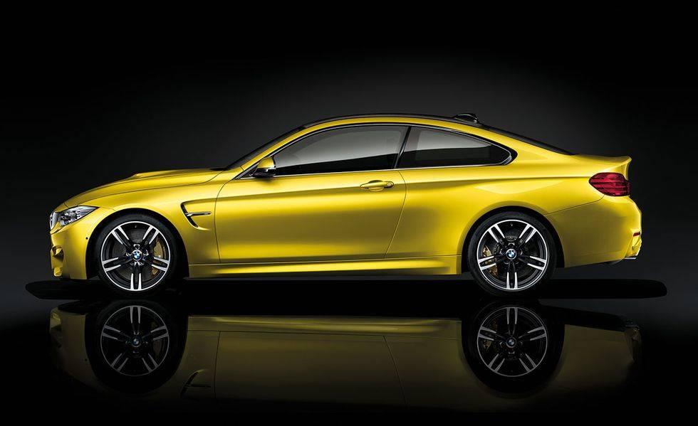 Austin Yellow Metallic – 2019 BMW M4