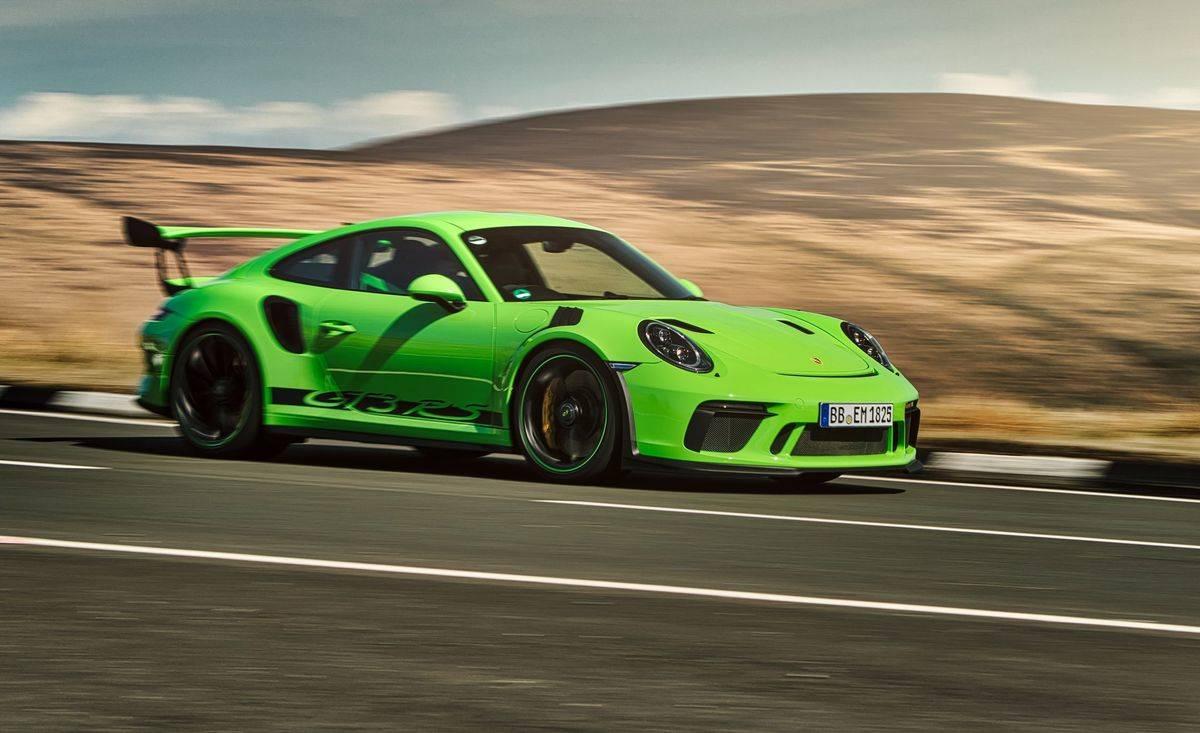 Lizard Green – 2019 Porsche 911 GT3 RS