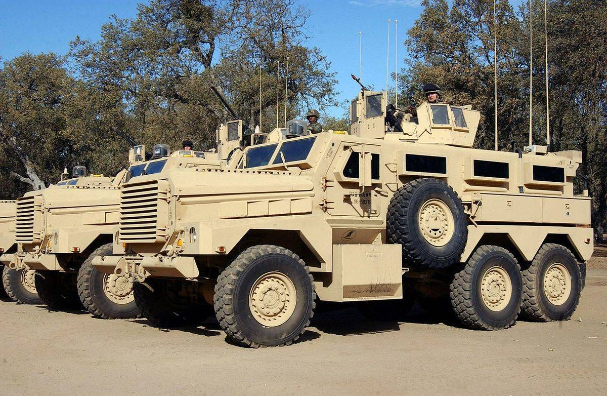 cougar mine resistant vehicle