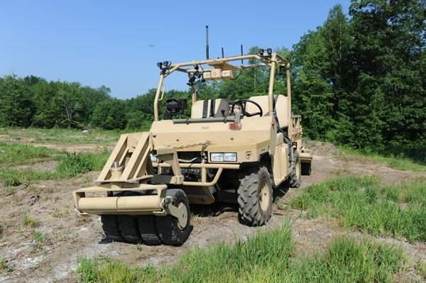 qinetiq military vehicle