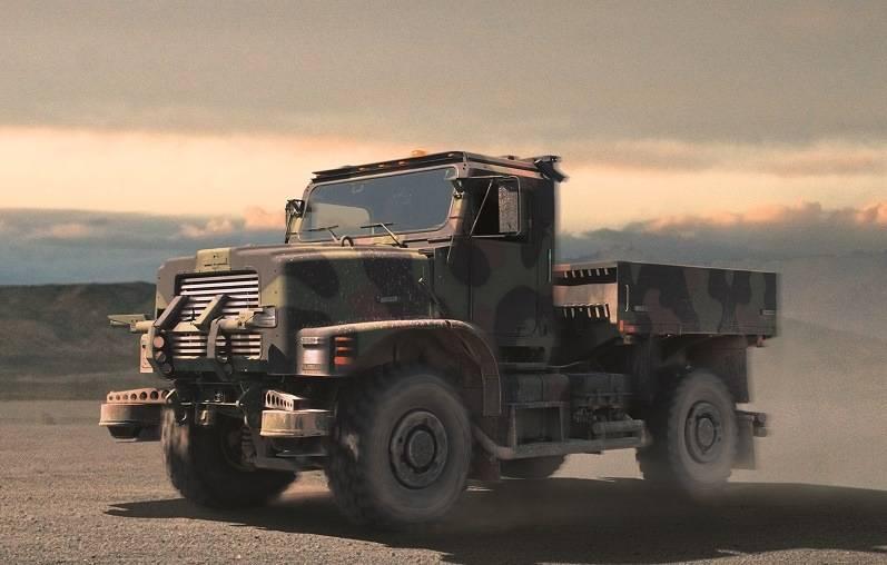 TerraMax self driving vehicle