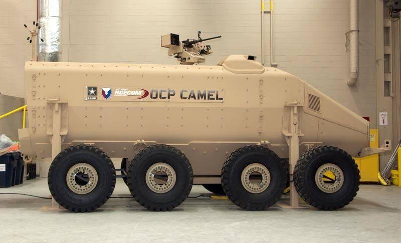 camel mrap vehicle