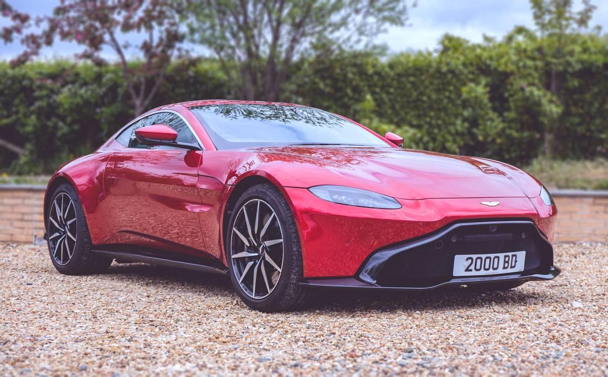 The Aston Martin Vantage...