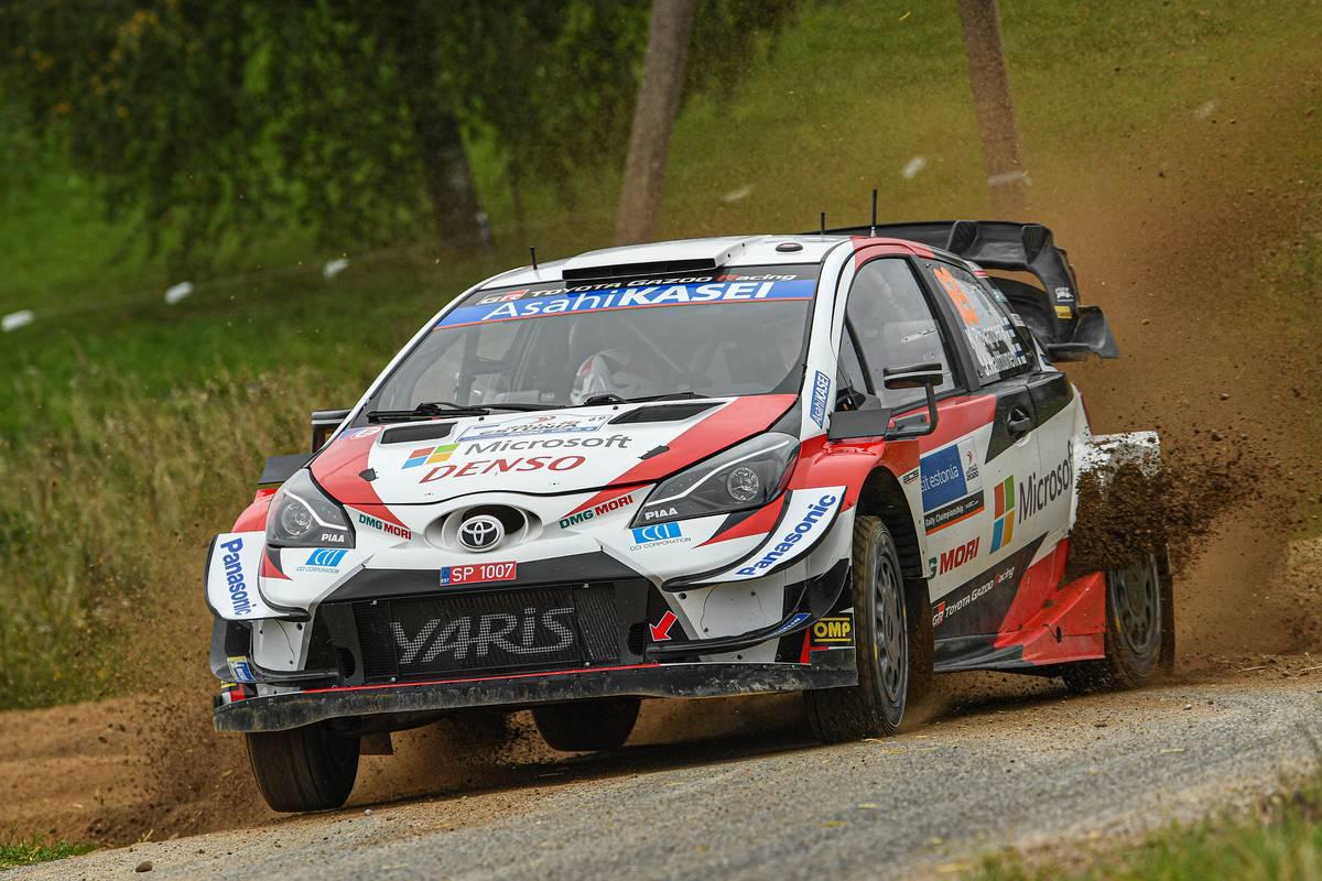 FIA World Rally Championship Estonia - Day One