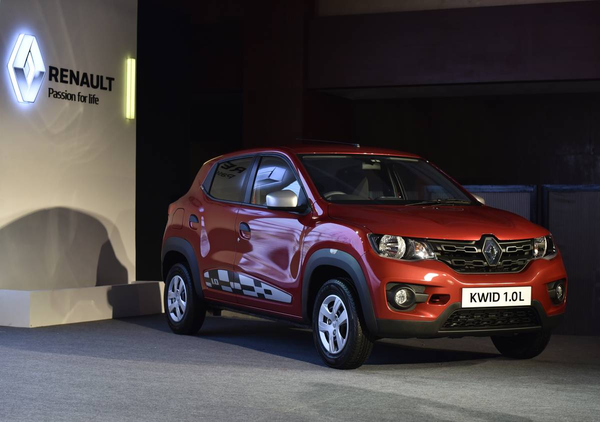 Launch Of New Renault Kwid