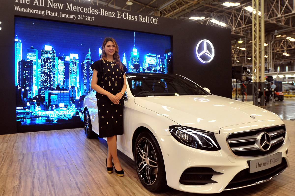 Mercedes-Benz E-Class series premieres assembly in Indonesia