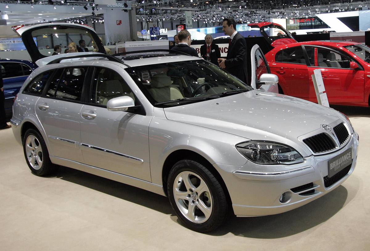 The New Chinese Brilliance BS4 Wagon is