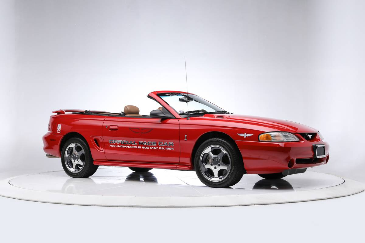 1994 Ford Shelby Mustang SVT Cobra Pace Car