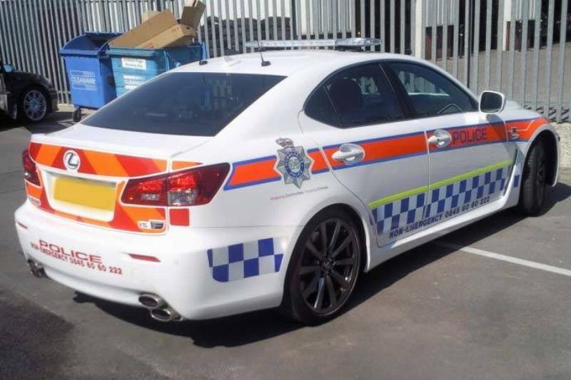 Lexus_IS-F_Humberside_Police