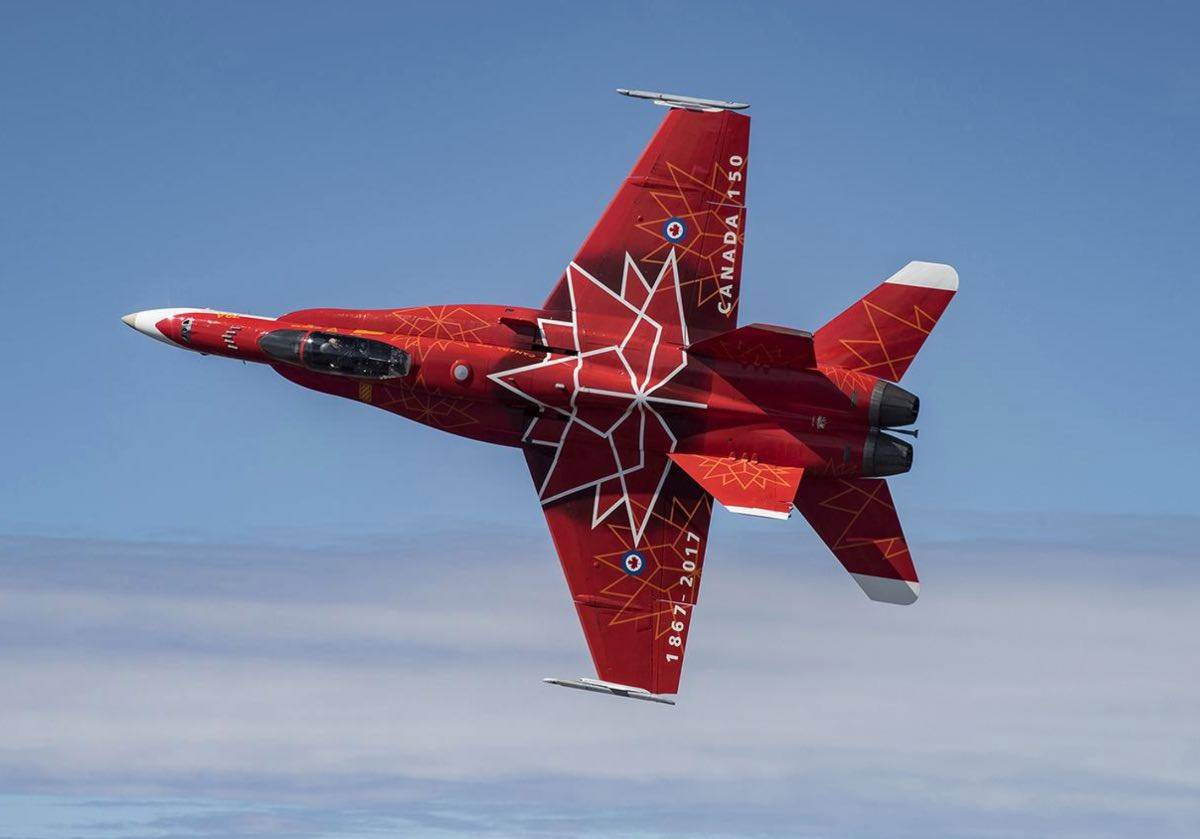 The Most Canadian Fighter Jet In The Sky