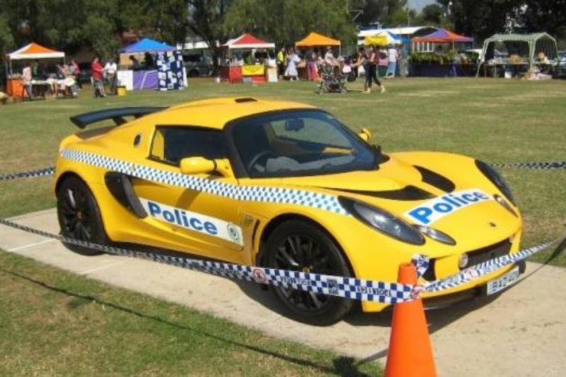 Yagoona_Autumn_Fair_ Lotus_Elise_police_car