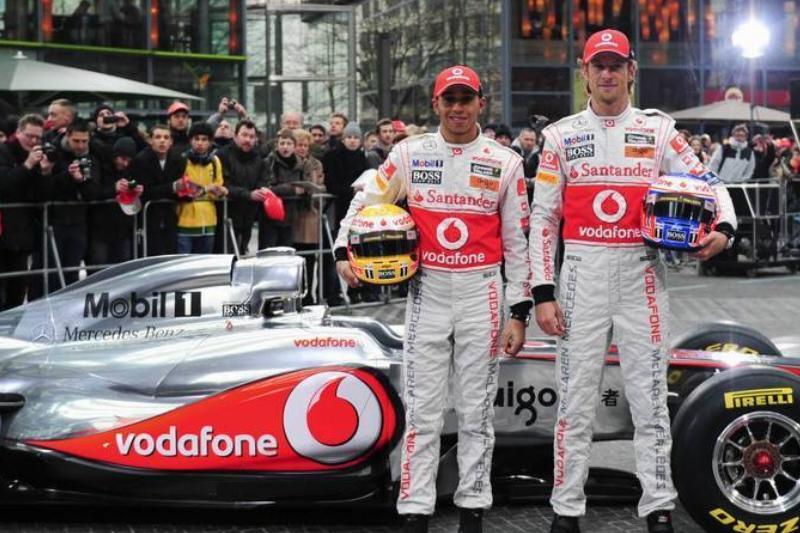British Formula One drivers of the McLar