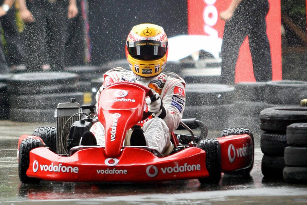 British McLaren Formula One motor racing