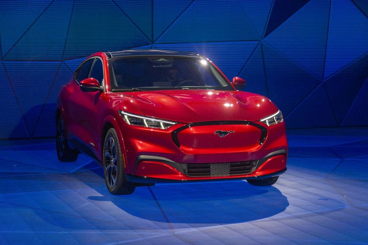 Car Manufacturers Show Off Their Latest Models At Los Angeles Auto Show