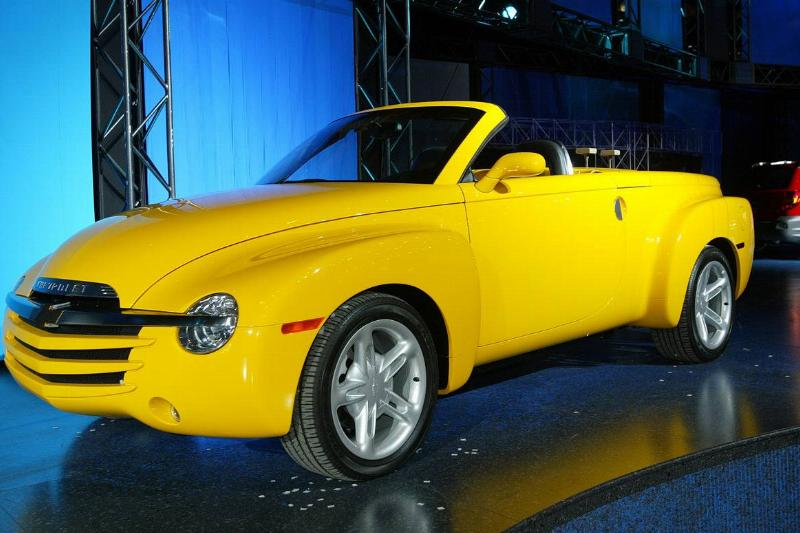 Chevrolet SSR pickup at the CIAS- Canadian International Auto Show in Toronto Feb 14-23 2003 . Feb 1