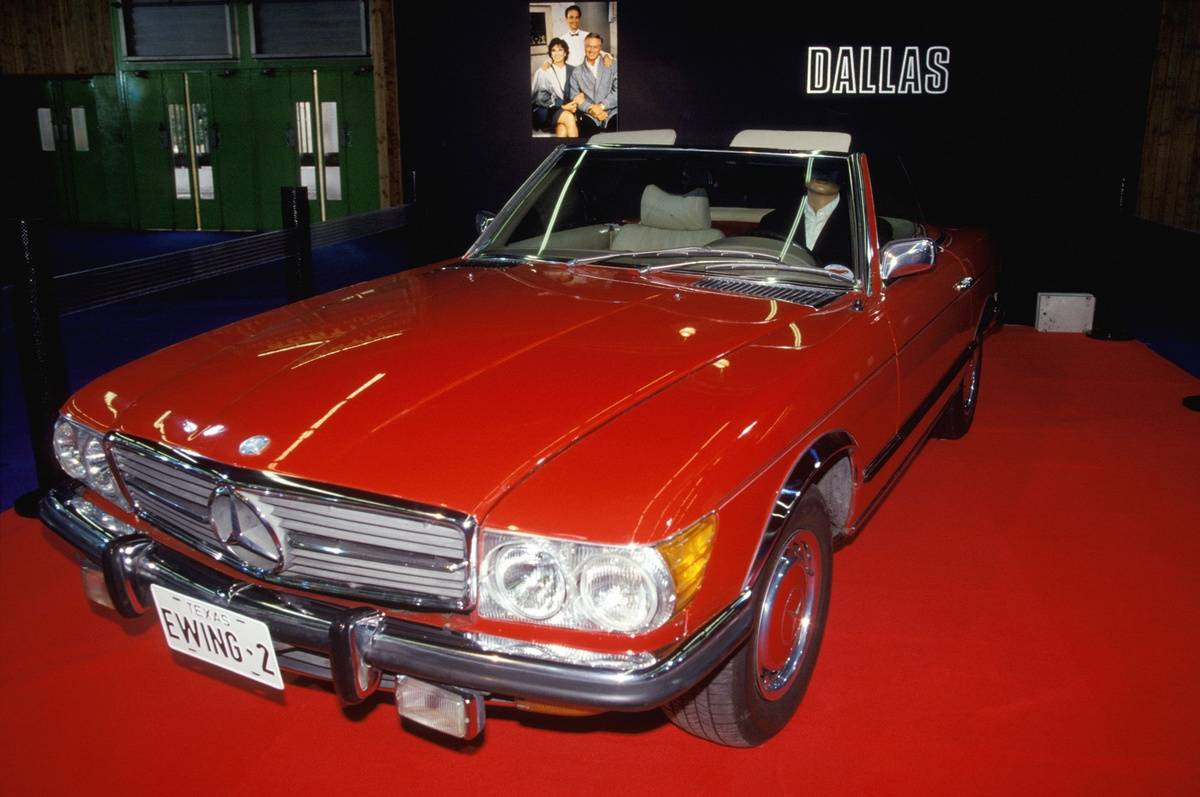 Exhibition Of Cars Stars Of Movie At Paris Car Show
