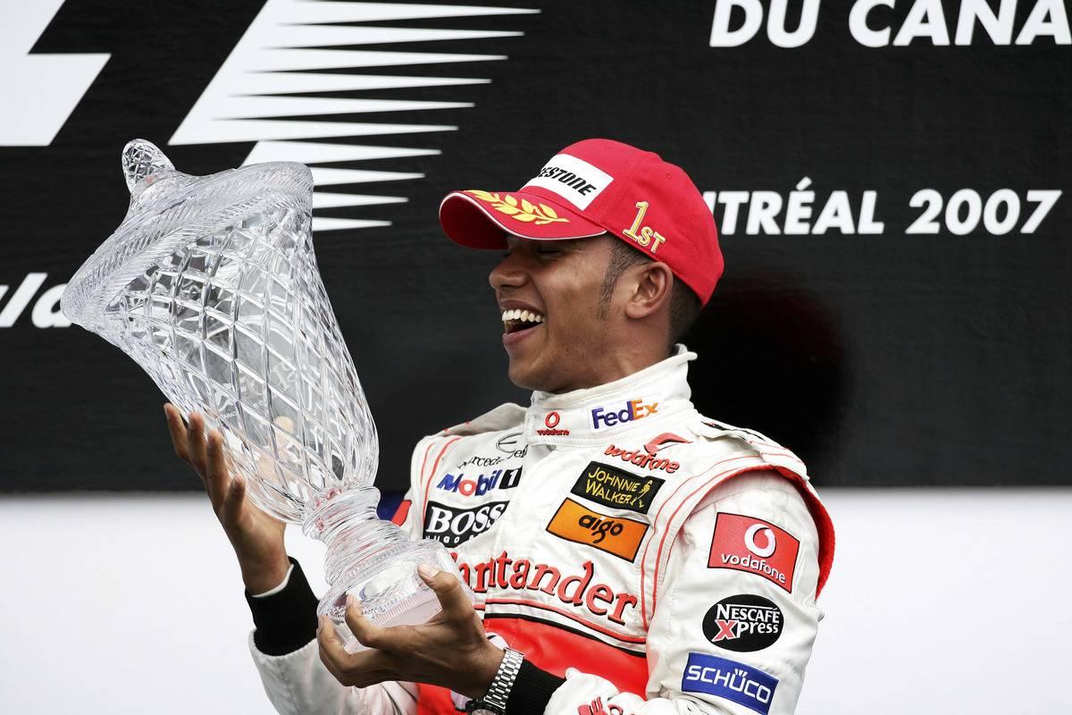 Lewis Hamilton, McLaren, 2007 Canadian Grand Prix