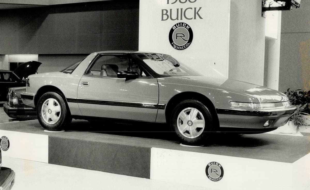 Touring for two: This is strictly a two-seater from the Buick division of GM. Using the front-wheel ...