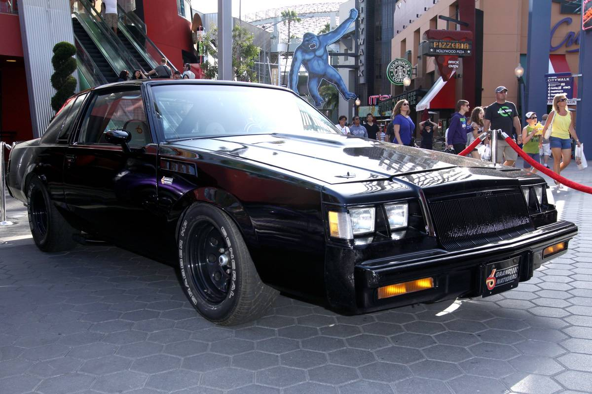 Universal CityWalk 20th Anniversary Event Featuring 8 Original Cars From
