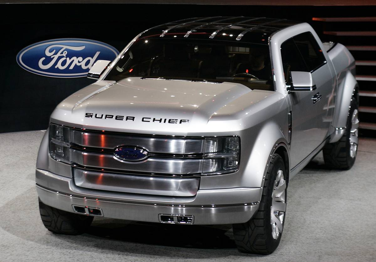 US-DETROIT AUTO SHOW-FORD SUPER CHIEF