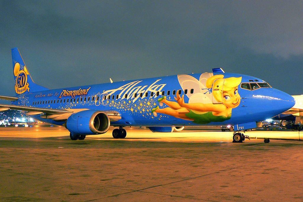 Alaska Air Has Faith, Trust, And Pixie Dust