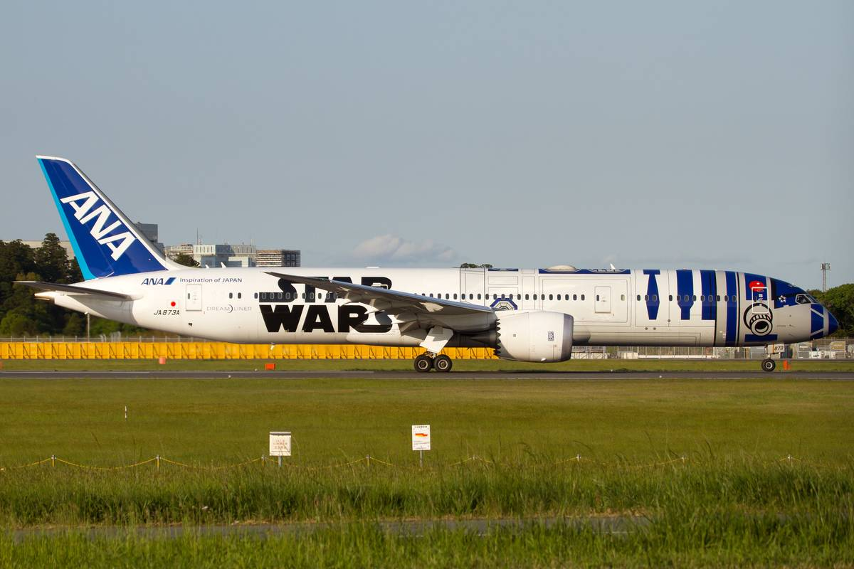 May The Force Be With This Boeing 787-900 Dream Liner