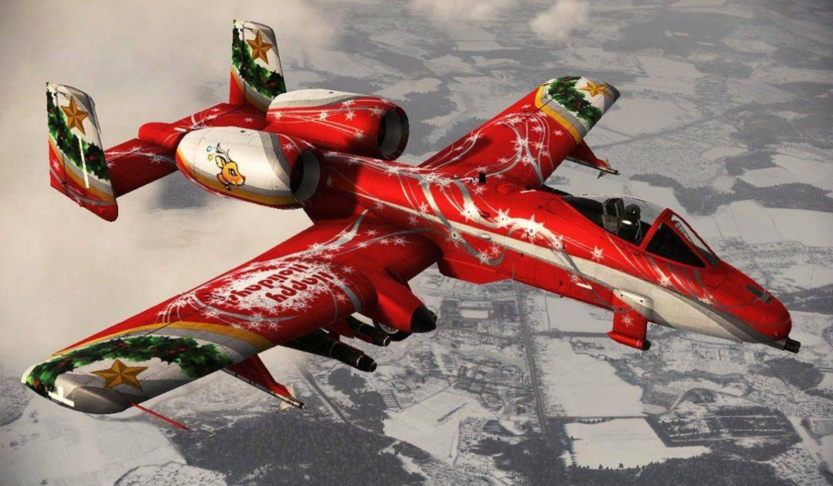 Merry Christmas From This A-10 Warthog