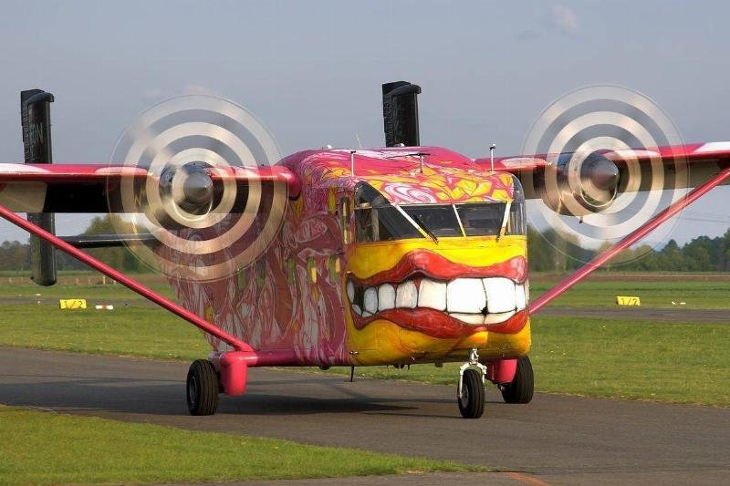 Party In The Sky With This Crazy Skyvan