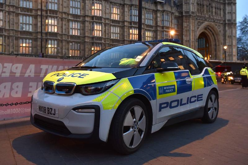 All Electric Police Vehicle