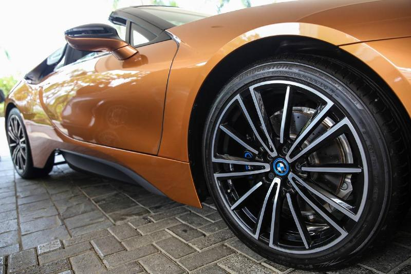 BMW i8 Roadster In Indonesia