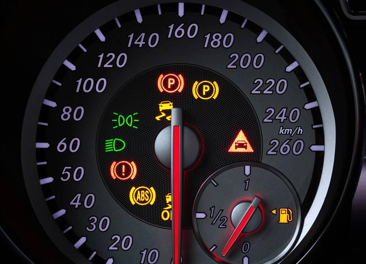 Display in car