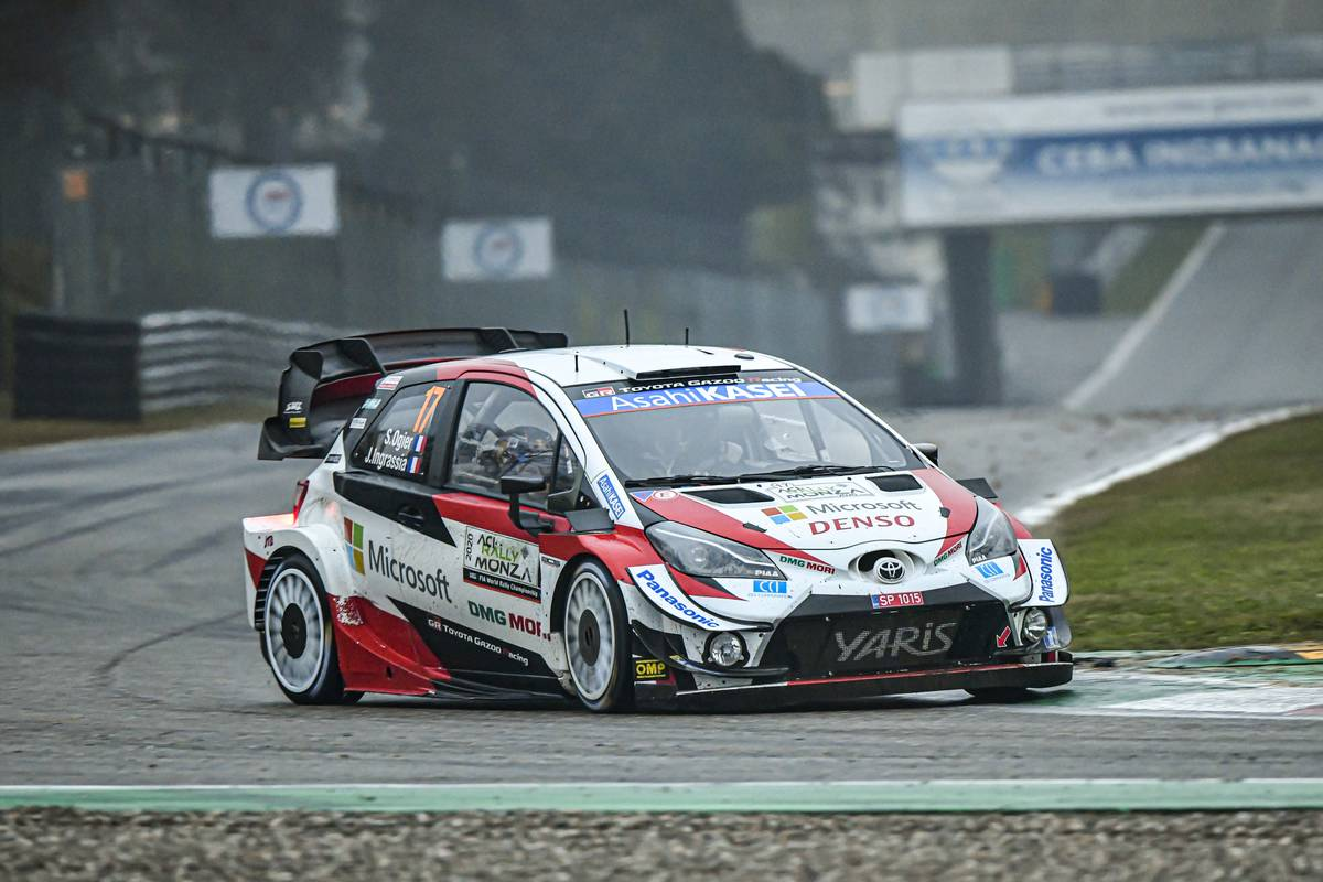 FIA World Rally Championship Italy - Day Three