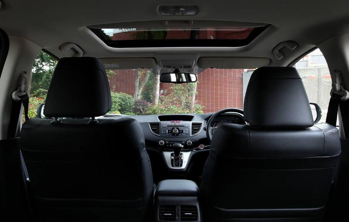 Interior shots of the new Honda CR-V. 11APR14