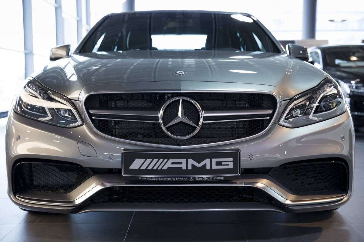 Mercedes-AMG Showroom in Stuttgart, Germany