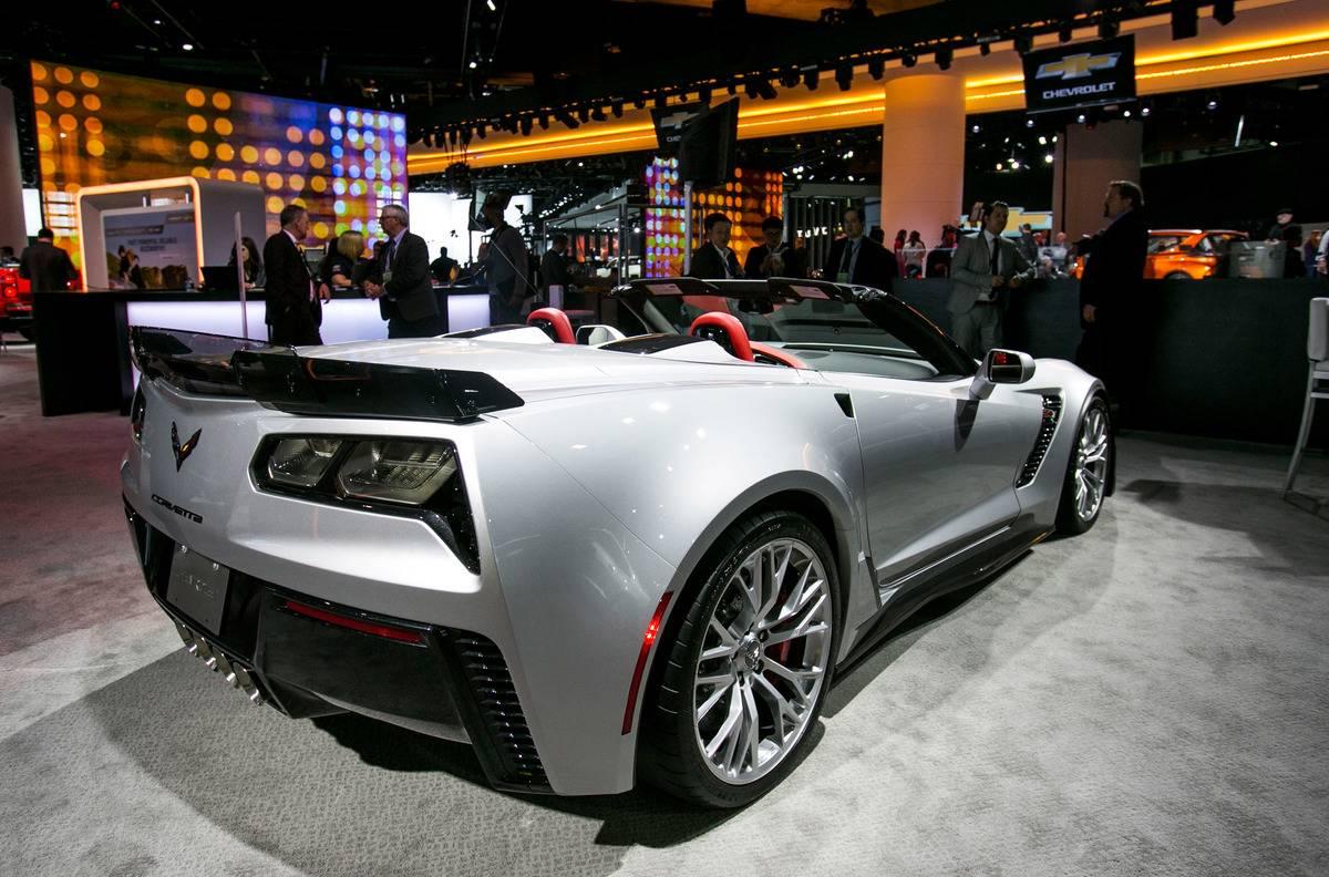 North American International Auto Show 2015 - Press Preview