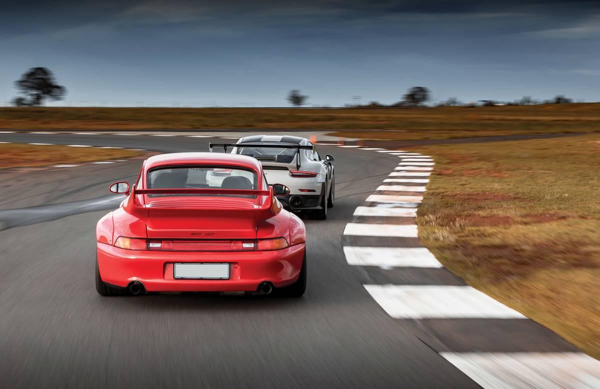 Porsche 993 GT2 Street & Porsche 991.2 GT2 RS, Delmas