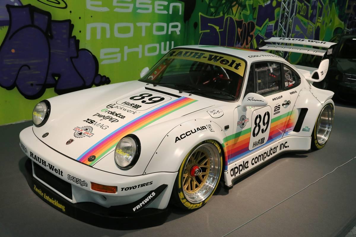 Porsche RWB on display at the Essen Motor Show on December...