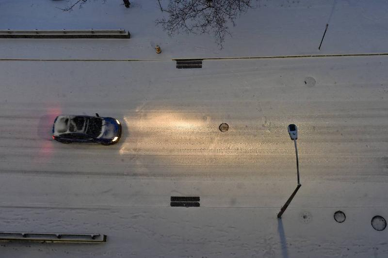 Snow Storm In Pennsylvania December 12, 2020