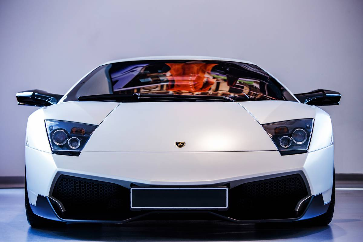 The Lamborghini Murcielago SV...