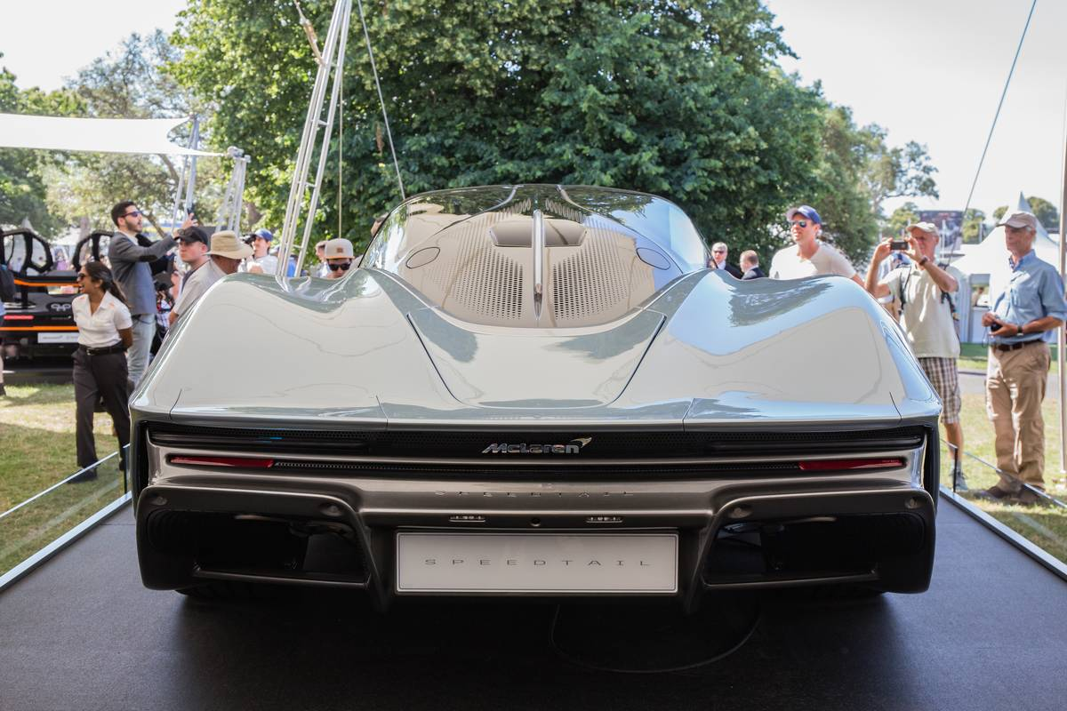 The McLaren Speedtail...