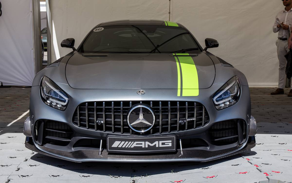 The Mercedes-Benz GT R Pro