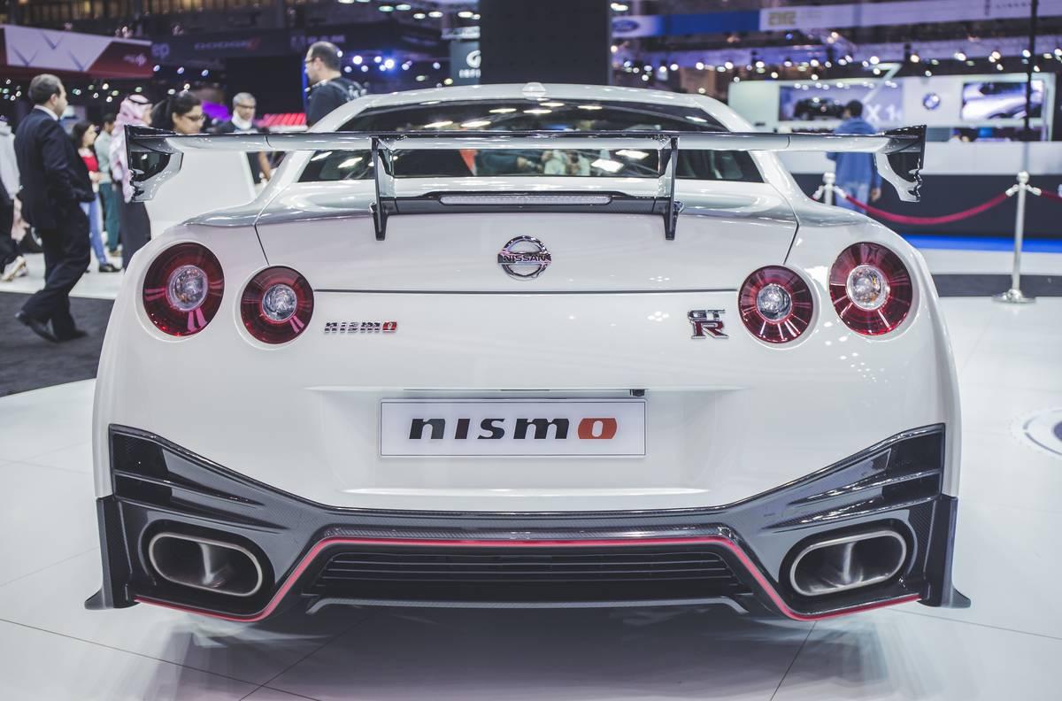 The Nissan GTR Nismo...