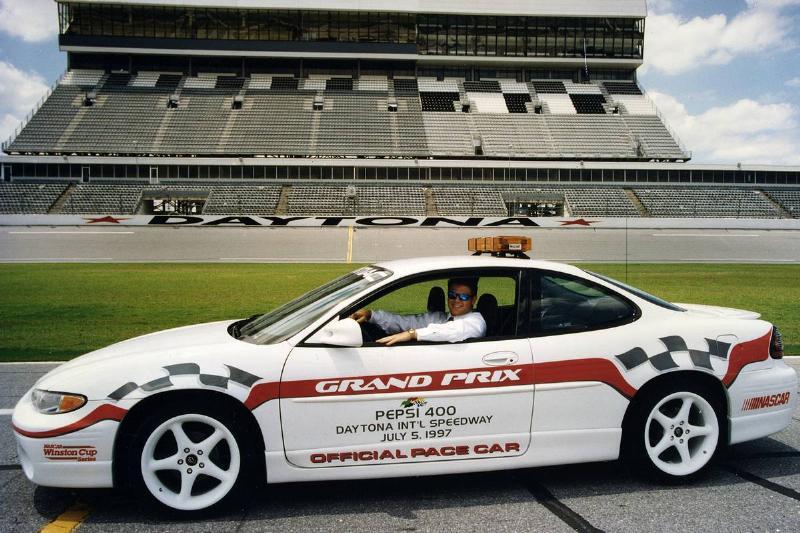 1997 Pepsi 400 pace car
