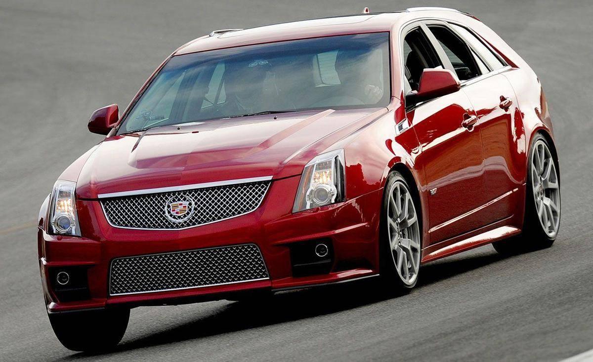 The Cadillac CTS-V Sports Wagon Had A Ton Of Horsepower
